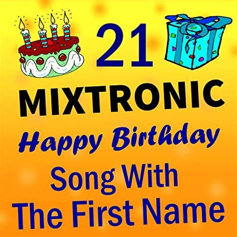 happy birthday name mp3 download amazon com happy birthday adam mixtronic mp3 downloads