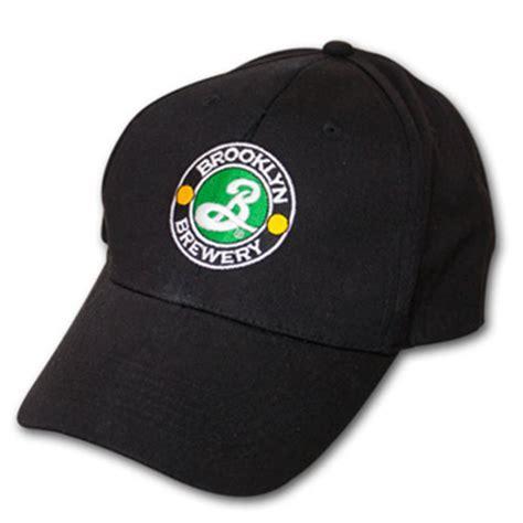 brewery embroidered black logo adjustable