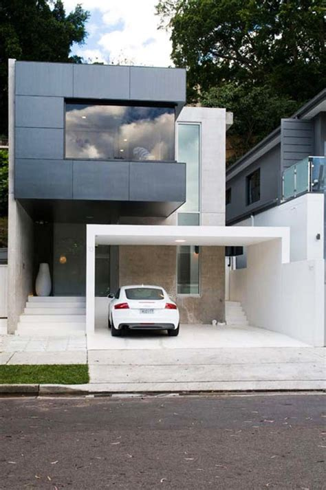 cool garage ideas for car parking in modern house design