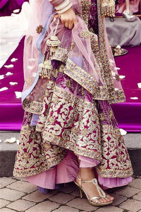 Chocolate Orchid Wedding Heels hindu indian wedding invitations eastern fusion designs