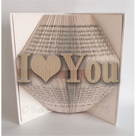 pattern art book i love you book folding pattern 800 pages 400 folds