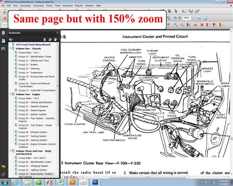 1975 ford f250 wiring diagram wiring diagram with