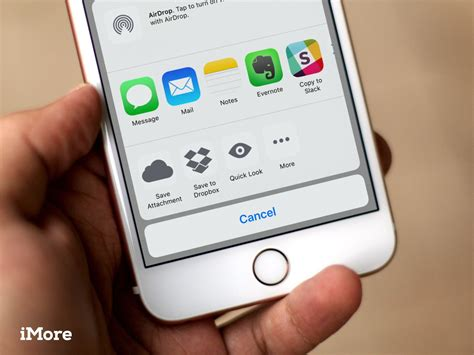 How To Search Email On Iphone How To Save Attachments In Mail For Iphone And Imore