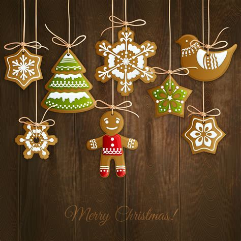 christmas cookies background   vectors clipart graphics vector art