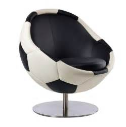 Patio Landscape Design Ideas Leather Soccer Chair Soccer Themed Armchair Hattrick