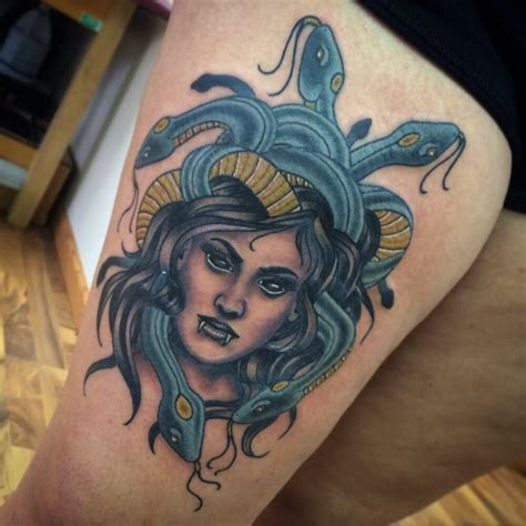 sink or swim tattoo medusa by keith yelp