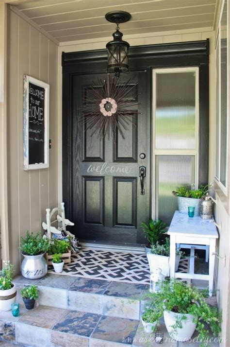 Front Porch Decorations by 30 Cool Small Front Porch Design Ideas Digsdigs
