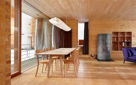 dining table in front of fireplace dining table contemporary fireplace zumthor vacation