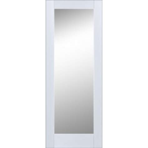 Seadec Cheshire Primed Shaker Door Frosted Glass White Frosted Glass Interior Doors