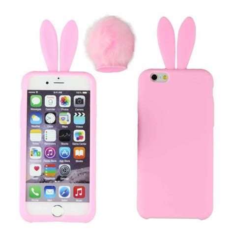Bunny Iphone bunny with detachable soft iphone