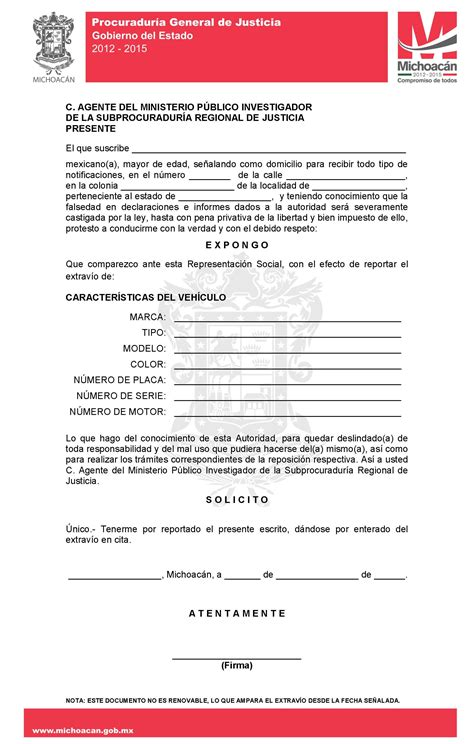documentos para cambiar placas del estado de michoacan documentos deslindeplacas2013 jpg