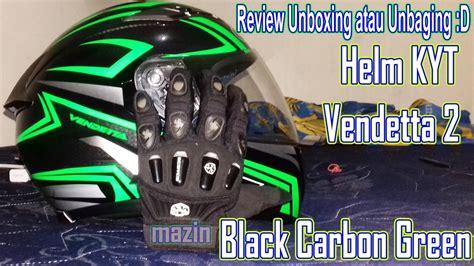 Helm Kyt Vendetta Carbon Unboxing Helm Kyt Vendetta 2