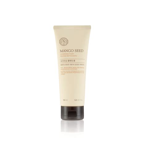 Thefaceshop White Seed Exfoliating Foam Cleanser mango seed cleansing foam a the shop exclusive