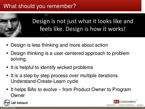 design thinking roles strategic business transformation ba role in design thinking