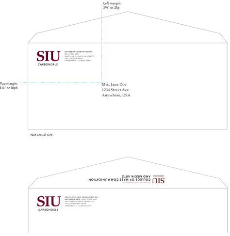 Douglas College Letterhead Standard Envelopes Identity Guidelines Siu