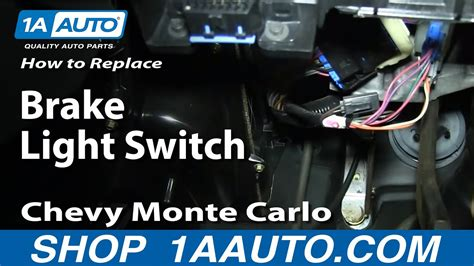 install replace fix brake light switch