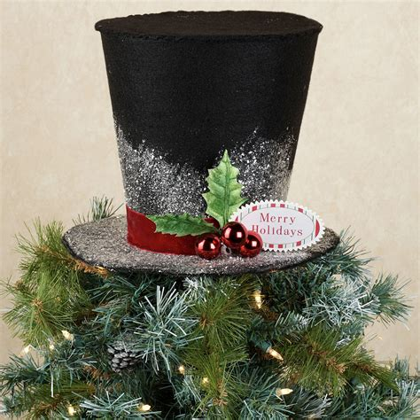 top hats for christmas trees myideasbedroom com