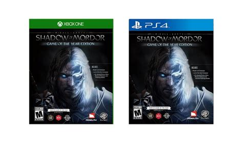 Kaset Gameps4 Middle Earth Shadow Of Mordor Goty Reg 2 middle earth shadow of mordor groupon goods