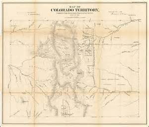 colorado territory map map of colorado territory compiled from government maps