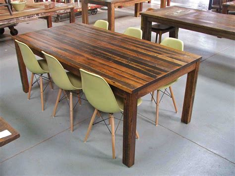 Timber Dining Tables Brisbane Recycled Timber Dining Tables Brisbane Home Decorations Idea