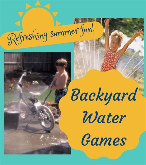 backyard water games summer farm c in the big city