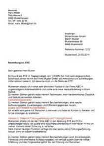 Brief Schweiz Schreiben Bewerbungsschreiben Muster Muster Vorlage Ch