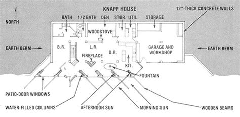 earth sheltered floor plans an earth sheltered home for independence green homes