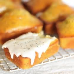 ina garten mini meatloaf lemon poppyseed yogurt cakes with lemon glaze tastespotting