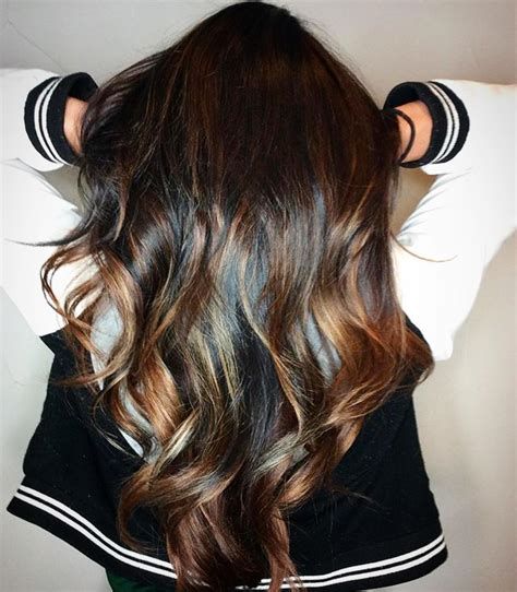 hairstyles with blonde and dark brown 35 dark brown colored balayage hairstyles 2018 hairstyle
