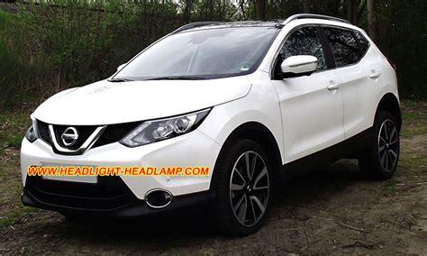 Len Qashqai by Nissan Qashqai Rogue Sport Headlight Lens Cover Cracked