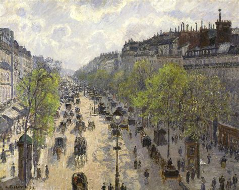 5 Boulevard Montmartre by File Camille Pissarro Boulevard Montmartre