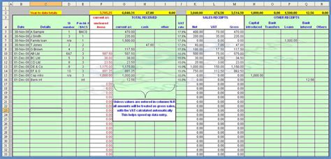 Payroll Spreadsheets by Payroll Spreadsheet Template 2 Bookkeeping Spreadsheet