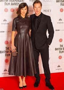 Supportive sophie hunter accompanied her fiance benedict cumberbatch