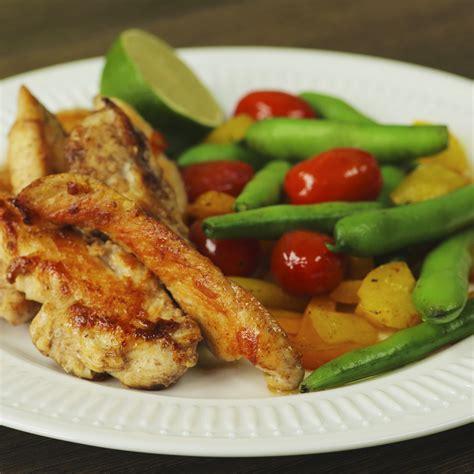 pork tenderloin with sauteed vegetables so delicious