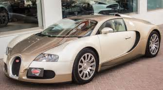 Bugatti Veyron Sale Unique Light Gold Bugatti Veyron For Sale
