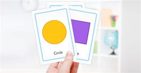 free shape flashcards for kids totcards free shape flashcards for kids totcards