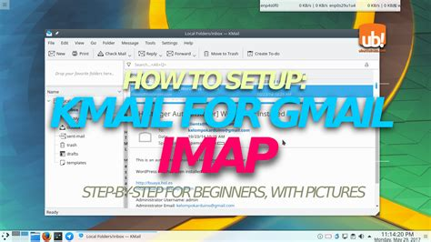 gmail imap how to setup kmail for gmail imap account