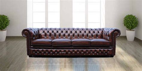 chesterfield settees for sale buy antique brown chesterfield sofa uk designersofas4u