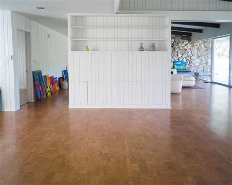 Floating Cork Clic Flooring   DuroDesign