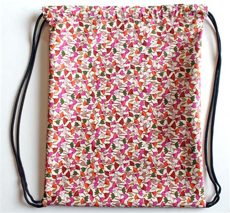 Bonia Flower Single Bag Fme9213 projects drawstring backpack diy