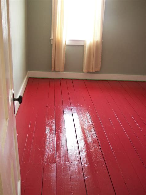red floor paint red a bold decision nettle s notes