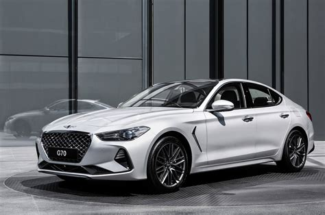 hyundai genesis hyundai 2019 2020 hyundai genesis g70 front view 2019