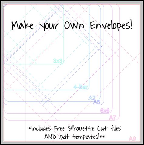 how to make envelopes template an envelope