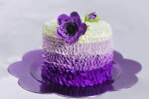Purple buttercream birthday cakes designs source djiqd110ru30i