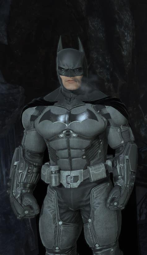 original arkham origins suit  damage batman arkham
