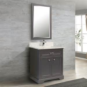 Lowes Vanity Grey Tidalbath Cmd Camden 31 In Empire Grey Bathroom Vanity