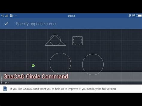 command pattern youtube gnacad circle command tutorial youtube
