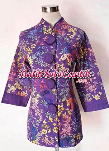 Thalia Katun baju kerja muslim model batik thalia 06 baju kerja batik