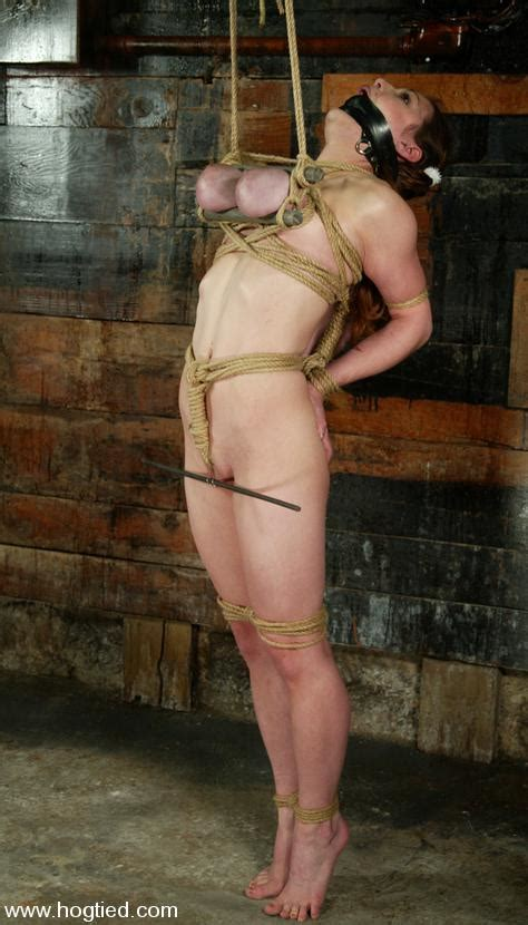 Naked Well Endowed Woman Mallory Knots Gets Punished By