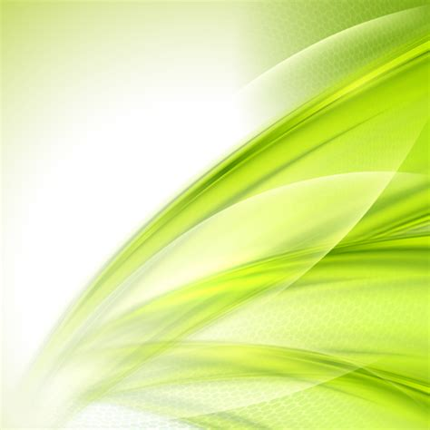 green wallpaper vector free download shiny green wave abstract background vector vector